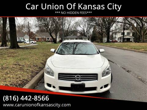 2010 Nissan Maxima for sale at Car Union Of Kansas City in Kansas City MO