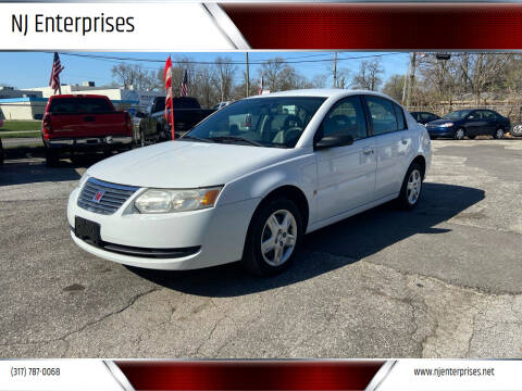 2007 Saturn Ion for sale at NJ Enterprises in Indianapolis IN