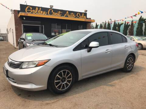 2012 Honda Civic for sale at Golden Coast Auto Sales in Guadalupe CA