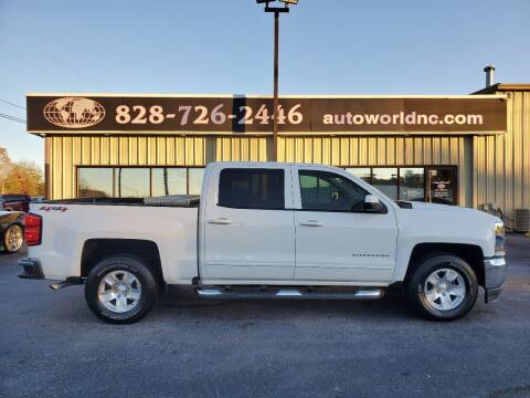 2017 Chevrolet Silverado 1500 for sale at AutoWorld of Lenoir in Lenoir NC