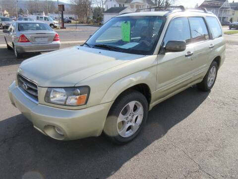 2003 Subaru Forester for sale at BOB & PENNY'S AUTOS in Plainville CT