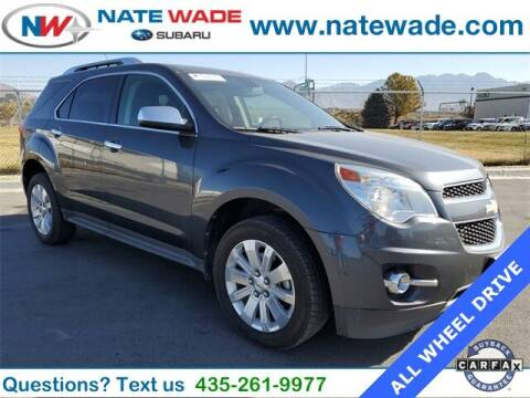 2011 Chevrolet Equinox for sale at NATE WADE SUBARU in Salt Lake City UT