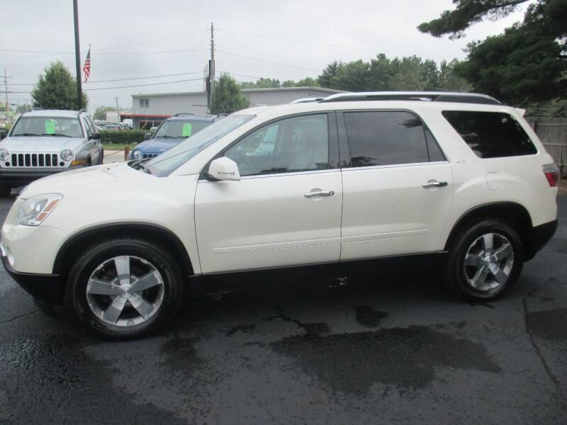 2009 GMC Acadia for sale at Home Street Auto Sales in Mishawaka IN