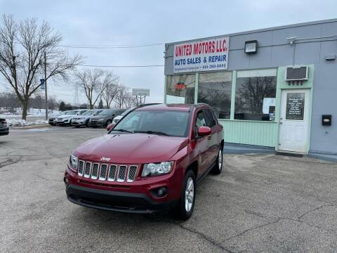 2016 Jeep Compass for sale at United Motors LLC in Saint Francis WI