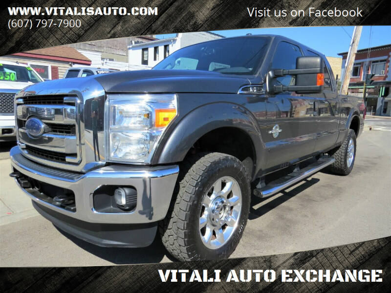 2016 Ford F-250 Super Duty for sale at VITALI AUTO EXCHANGE in Johnson City NY