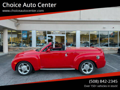 2003 Chevrolet SSR for sale at Choice Auto Center in Shrewsbury MA