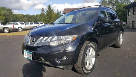 2009 Nissan Murano for sale at Shores Auto in Lakeland Shores MN