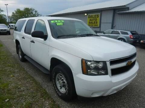 2007 Chevrolet Suburban for sale at Dales Auto Sales in Hutchinson MN