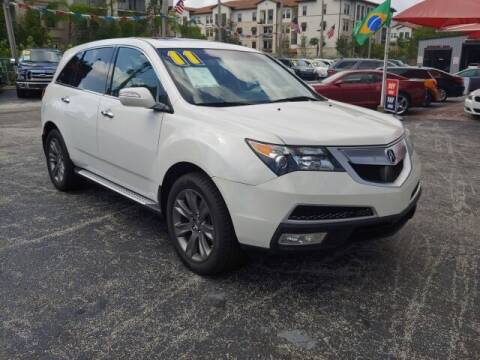 2011 Acura MDX for sale at Brascar Auto Sales in Pompano Beach FL