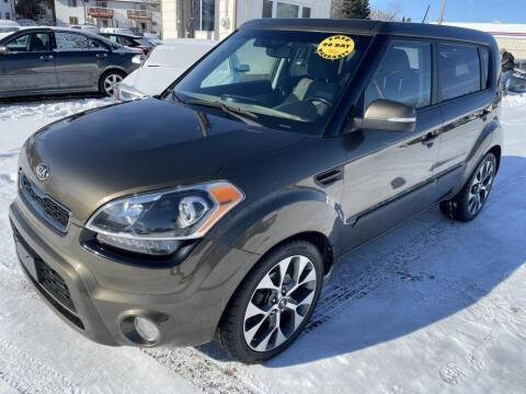 2013 Kia Soul for sale at CHRISTIAN AUTO SALES in Anoka MN