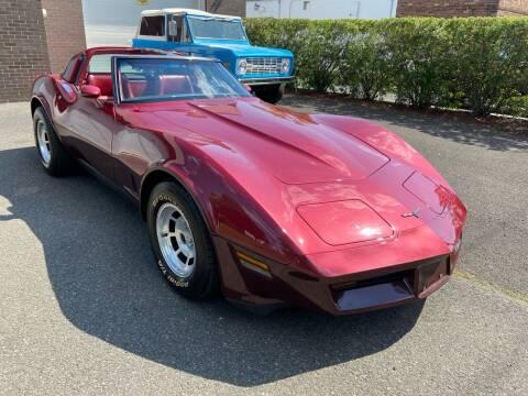1981 Chevrolet Corvette for sale at International Motor Group LLC in Hasbrouck Heights NJ