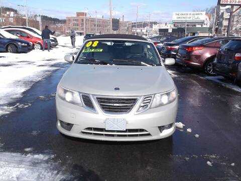 2008 Saab 9-3 for sale at sharp auto center in Worcester MA
