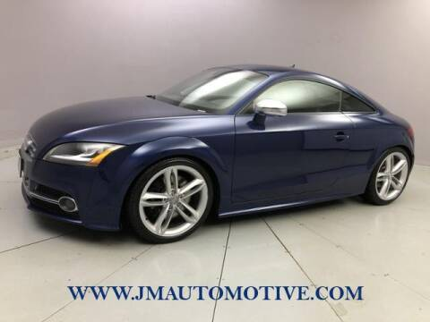 2013 Audi TTS for sale at J & M Automotive in Naugatuck CT