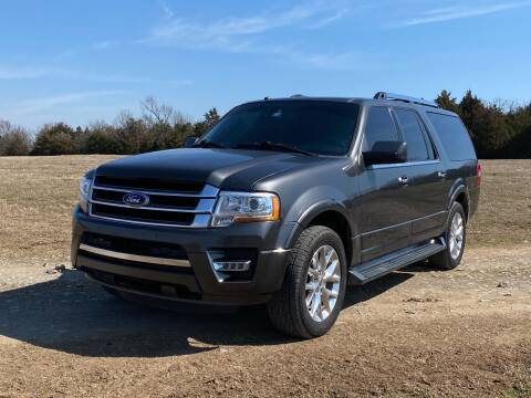 2017 Ford Expedition EL for sale at TINKER MOTOR COMPANY in Indianola OK
