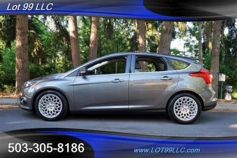 2013 Ford Focus for sale at LOT 99 LLC in Milwaukie OR