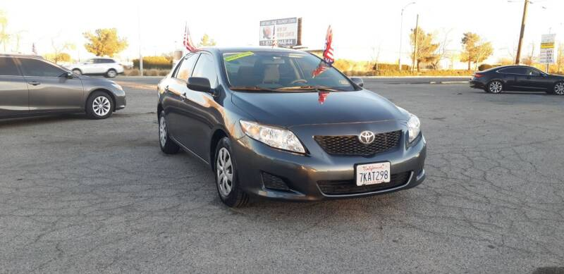 2009 Toyota Corolla for sale at Autosales Kingdom in Lancaster CA