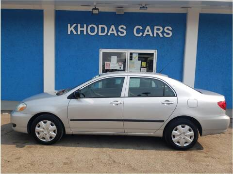 2007 Toyota Corolla for sale at Khodas Cars in Gilroy CA