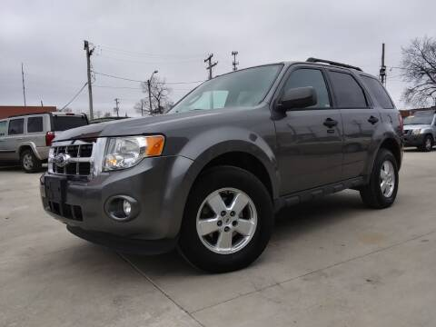 2012 Ford Escape for sale at EURO MOTORS AUTO DEALER INC in Champaign IL