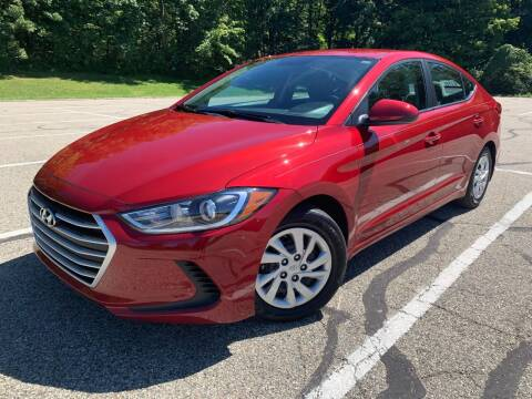 2017 Hyundai Elantra for sale at Lifetime Automotive LLC in Middletown OH