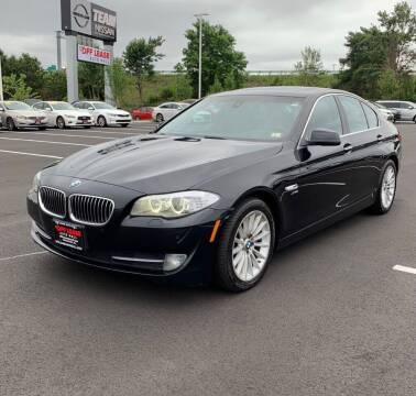 2011 BMW 5 Series for sale at Eastclusive Motors LLC in Hasbrouck Heights NJ