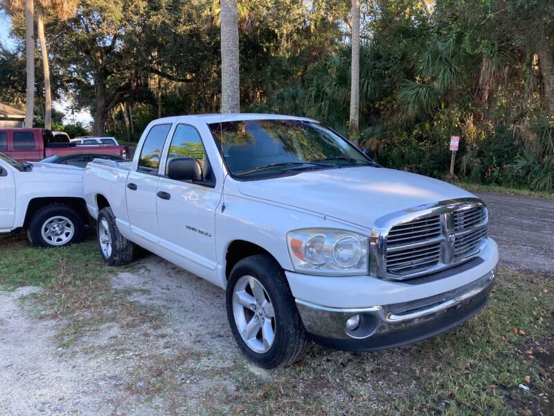 2007 Dodge Ram Pickup 1500 for sale at Harbor Oaks Auto Sales in Port Orange FL