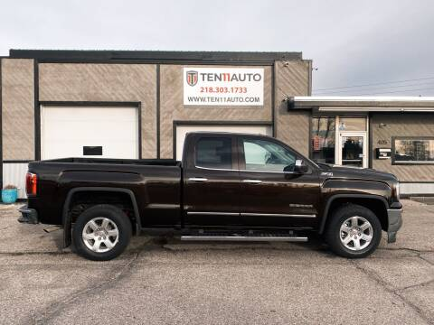 2018 GMC Sierra 1500 for sale at Ten 11 Auto LLC in Dilworth MN
