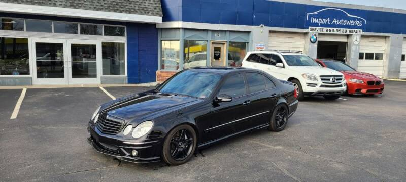 2007 Mercedes-Benz E-Class for sale at Import Autowerks in Portsmouth VA