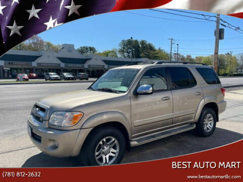 2007 Toyota Sequoia for sale at Best Auto Mart in Weymouth MA