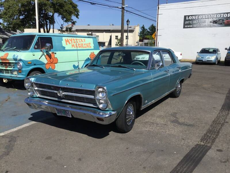 1966 Ford Fairlane 500 for sale at Longoria Motors in Portland OR