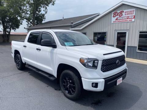 2020 Toyota Tundra for sale at B & B Auto Sales in Brookings SD