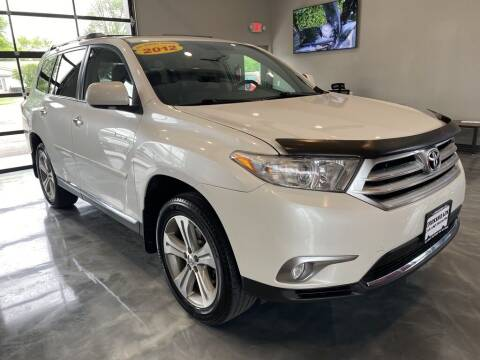 2012 Toyota Highlander for sale at Crossroads Car & Truck in Milford OH