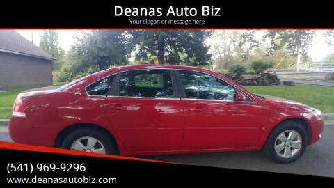 2008 Chevrolet Impala for sale at Deanas Auto Biz in Pendleton OR