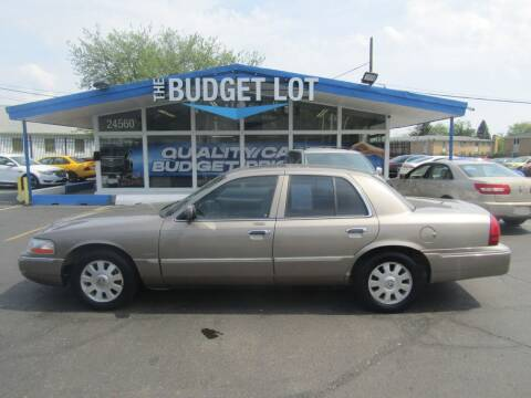 2005 Mercury Grand Marquis for sale at THE BUDGET LOT in Detroit MI