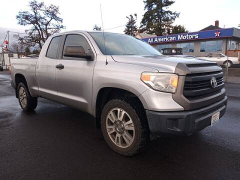 2014 Toyota Tundra for sale at All American Motors in Tacoma WA