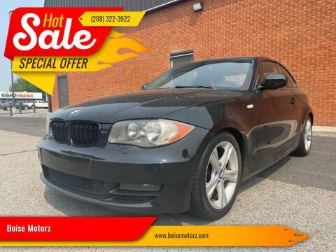 2011 BMW 1 Series for sale at Boise Motorz in Boise ID
