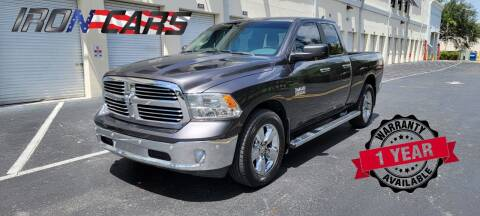 2018 RAM Ram Pickup 1500 for sale at IRON CARS in Hollywood FL