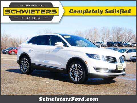2018 Lincoln MKX for sale at Schwieters Ford of Montevideo in Montevideo MN
