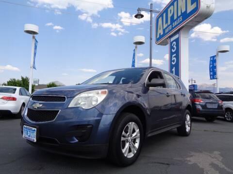 2013 Chevrolet Equinox for sale at Alpine Auto Sales in Salt Lake City UT