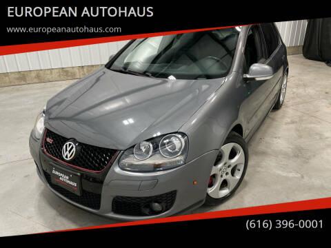 2008 Volkswagen GTI for sale at EUROPEAN AUTOHAUS in Holland MI