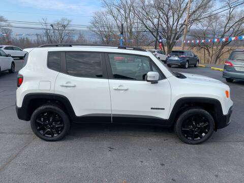 2018 Jeep Renegade for sale at MAGNUM MOTORS in Reedsville PA