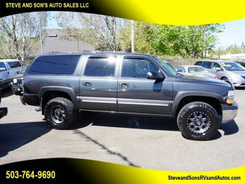 2005 Chevrolet Suburban for sale at Steve & Sons Auto Sales in Happy Valley OR