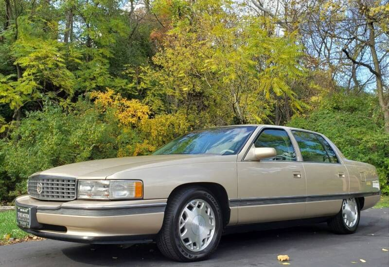 1996 Cadillac DeVille for sale at The Motor Collection in Columbus OH