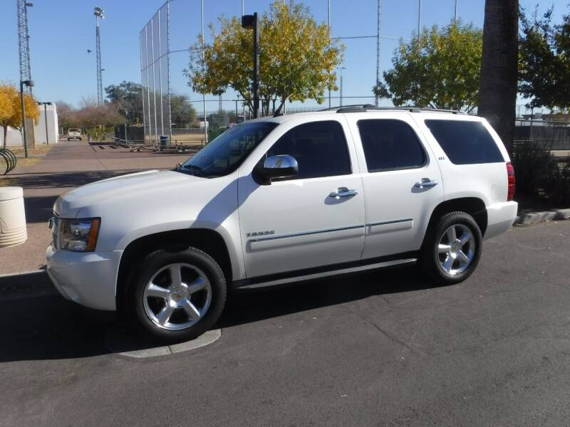 2013 Chevrolet Tahoe for sale at J & E Auto Sales in Phoenix AZ