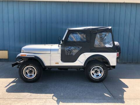 1982 Jeep CJ-5 for sale at ELIZABETH AUTO SALES in Elizabeth PA