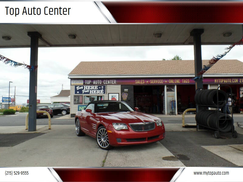 2007 Chrysler Crossfire for sale at Top Auto Center in Quakertown PA