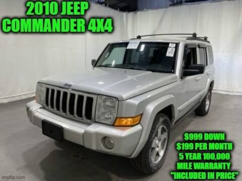 2010 Jeep Commander for sale at D&D Auto Sales, LLC in Rowley MA