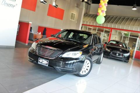 2013 Chrysler 200 for sale at Quality Auto Center in Springfield NJ