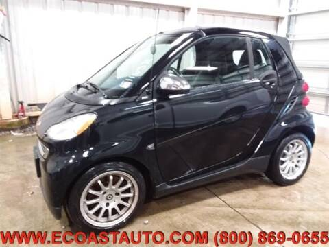 2011 Smart fortwo for sale at East Coast Auto Source Inc. in Bedford VA