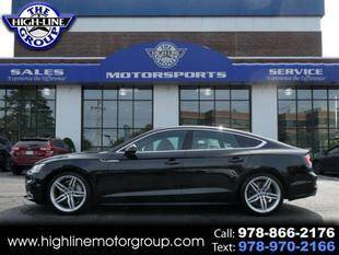 2018 Audi A5 Sportback for sale at Highline Group Motorsports in Lowell MA