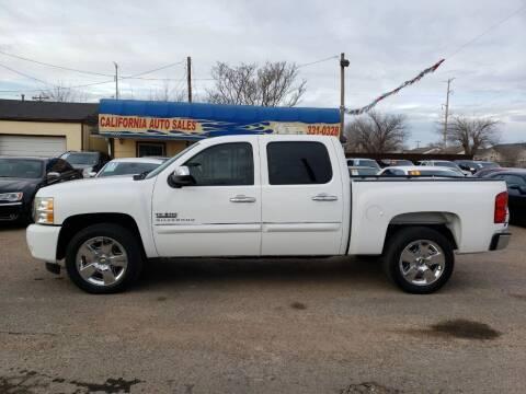 2011 Chevrolet Silverado 1500 for sale at California Auto Sales in Amarillo TX
